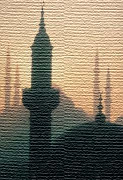 Minarets fabric
