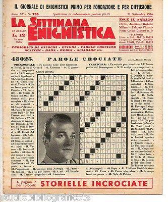 LA-SETTIMANA-ENIGMISTICA-Anno-XV-n756-–